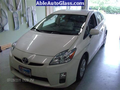 Toyota Prius 2010-2011 Windshield Replaced - back together