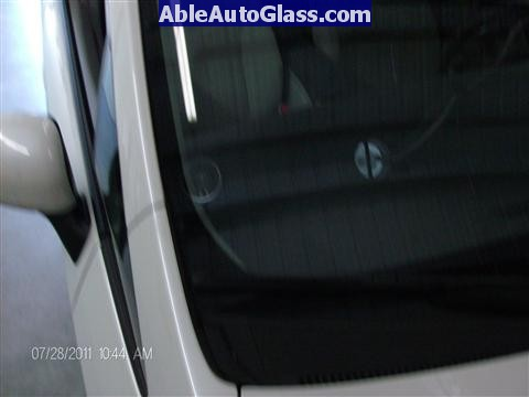 Toyota Prius 2010-2011 Windshield Replaced - crack in auto glass