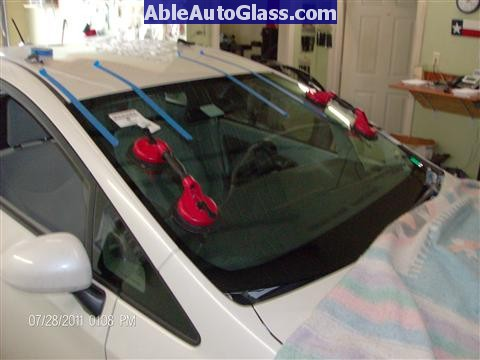 Toyota Prius 2010-2011 Windshield Replaced - installed
