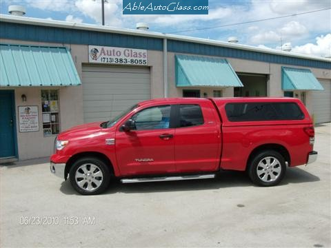 Tundra 2007-2011 Ext Red Complete and Ready to Drive