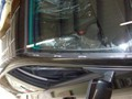 BMW 5451 2005 Windshield Replace Houston, TX-Side Molding Removed