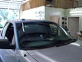 Ford F150 2005-2008 Standard Cab Windshield Repalcement - Side Molding, Wiper and Cowl Removed