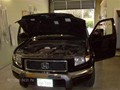 Honda Ridgeline Windshield Replace - View Under Hood