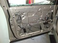 Infinit QX56 2008 Front Left Door Glass Laminated - clear view of inside panel