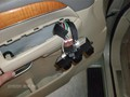 Infinit QX56 2008 Front Left Door Glass Laminated - view of switches