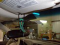 Infiniti M35 2007 Windshield Replacement - View of Rear View Mirror