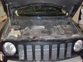 Jeep Patriot 2007-2011 Windshield - Replacement - View Underhood witth Wipers Removed