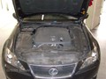 Lexus IS 250 2008 Windshield Replace - view underhood