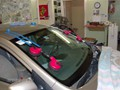 Toyota Corolla 2009-2011 Acoustic Windshield - installed with two people