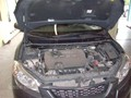 Toyota Matrix Windshield Replaced 2009-2011 - view under hood