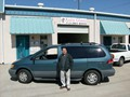 Toyota Sienna 2003 Mini Van Front Windshield Replacement