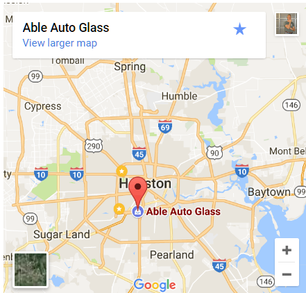 AbleAutoGlass.com Map Location